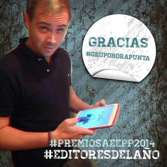 Grupo Hora Punta recibe el premio 'Editores del año'