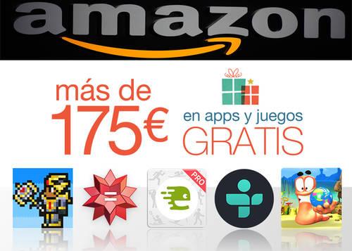 Amazon regala apps por Navidad