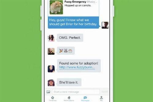 Twitter lanza las conversaciones grupales