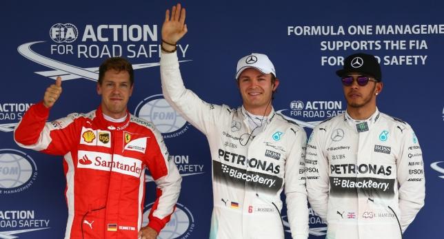 Nico deja a Hamilton sin la pole