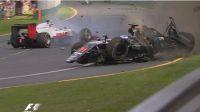 Fernando Alonso sale ileso de un espectacular accidente