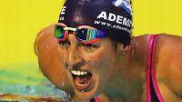 Michelle Alonso bate dos records de natación