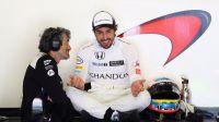 Carlos Sainz Jr saldrá octavo y Alonso décimo