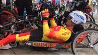 Sergio Garrote consigue nuestra primera medalla en handbikes