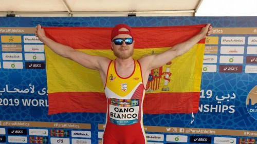 Iván Cano logra una medalla de bronce en el Mundial de Atletismo Paralímpico de Dubai