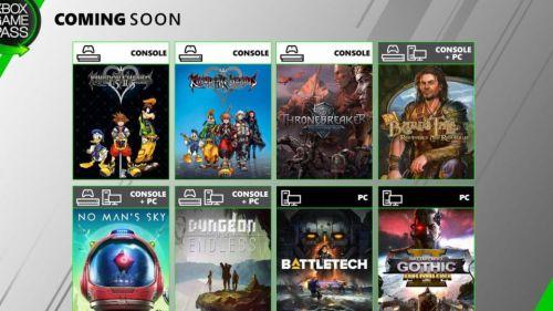 No Man's Sky, el renovado Kingdom Hearts y más, llegan a Xbox Game Pass