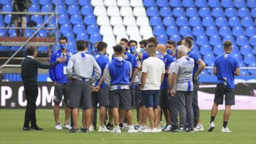 El Deportivo reacciona ante la suspensión de su encuentro con el Fuenlabrada