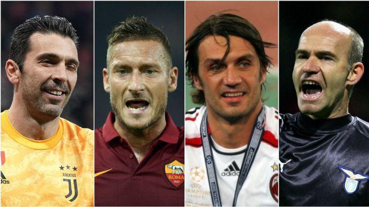 Los más veteranos de la Champions League