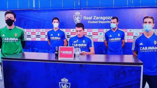 La plantilla del Zaragoza: 'Es insoportable la improvisación de los que gobiernan el fútbol'