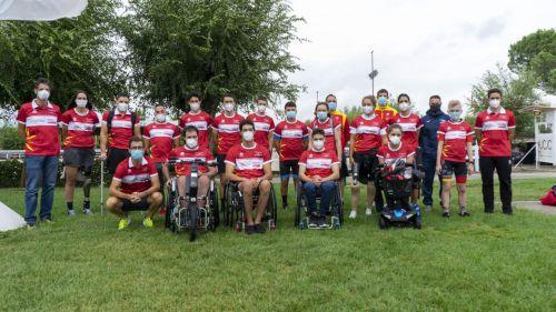 Una veintena de jóvenes se presentan como candidatos al equipo de Ciclismo Paralímpico