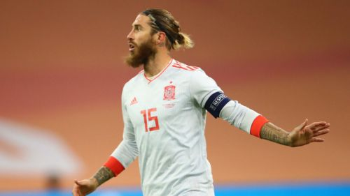 Ramos ya es el tercer jugador de la historia con más partidos de selecciones