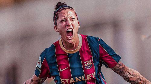Jennifer Hermoso ha sido nominada por FIFA entre las mejores jugadoras del mundo