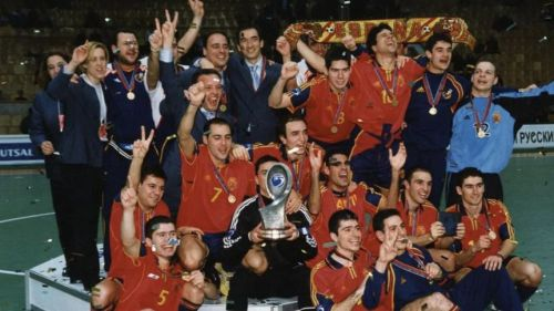 Se cumplen 20 años del segundo Europeo de la Selección Española de Fútbol Sala