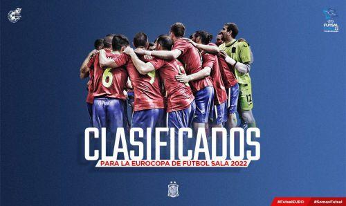 España saca el billete para la UEFA Futsal EURO 2022 de Países Bajos (1-12)