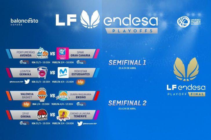 Los #PlayoffsLFEndesa definen sus eliminatorias de cuartos de final