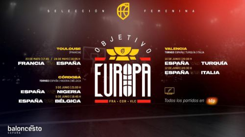 España disputará seis partidos de preparación rumbo al Eurobasket 2021