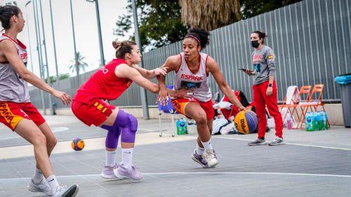 Selección femenina: España eleva el nivel en el Women's Series de Voiron