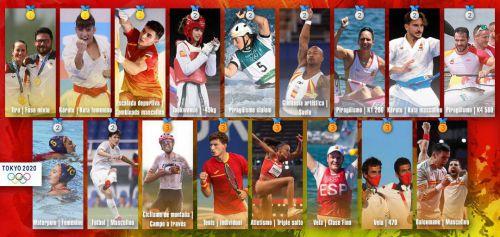 El 55,59% de nuestros deportistas están entre los 8 mejores del mundo