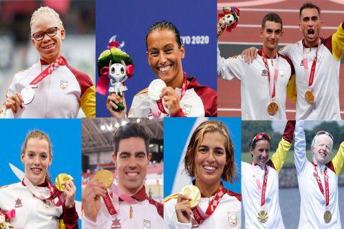 Los Paralímpicos españoles vuelven a casa con 36 medallas