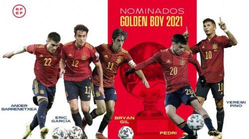 Golden Boy: Amplia representación de jugadores españoles entre los cuarenta finalistas