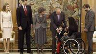 Teresa Perales y Pau Gasol reciben la Medalla de Oro al Mérito en el Trabajo