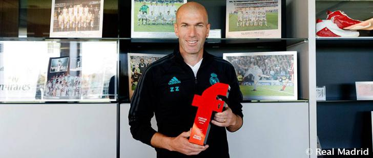 Zidane: 'Sé que no me quedaré diez años en el Real Madrid'